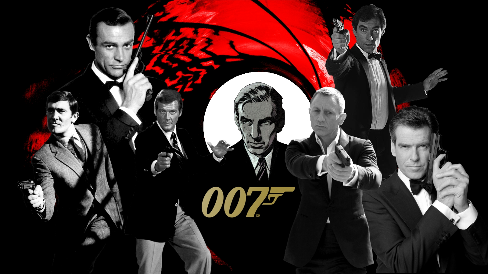 James Bond 007 Wallpaper 1600x900 by BradyMajor 1600x900