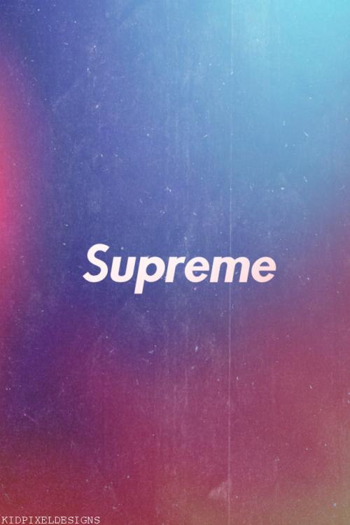 Supreme Wallpaper 500x750