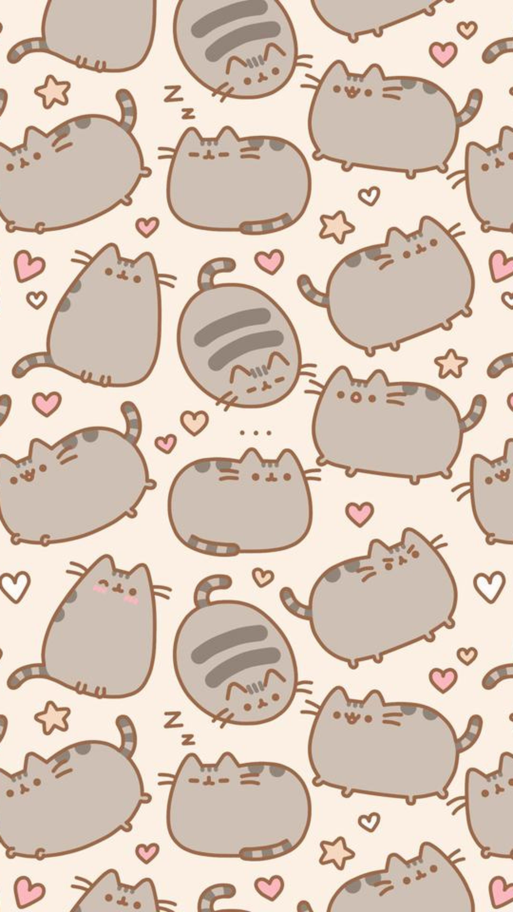 Download Random Cute Pusheen Cat For Hd 4k Sony Xperia   Pusheen 2160x3840