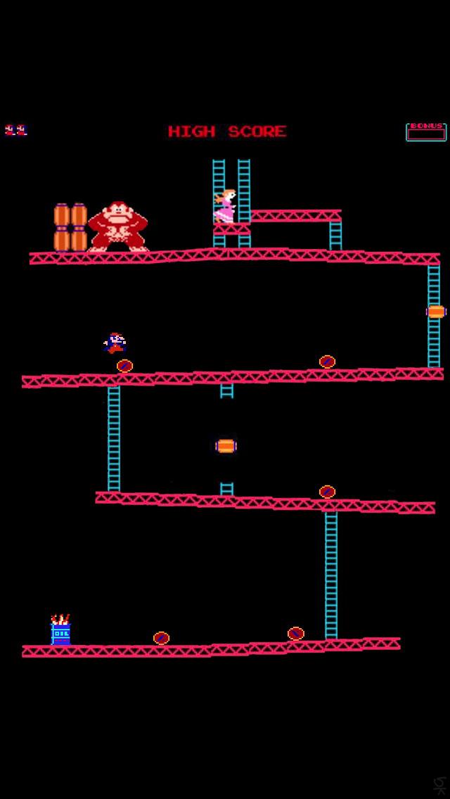 Donkey Kong iPhone 5 Wallpaper 640x1136 640x1136