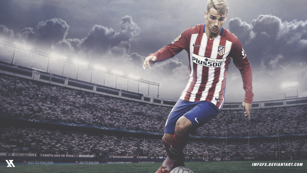 Antoine Griezmann   Atletico Madrid 2016 Wallpaper by 1024x578