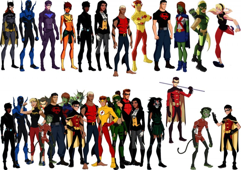 Young Justice Cast Wallpaper Hd Wallpapers BEE 800x565