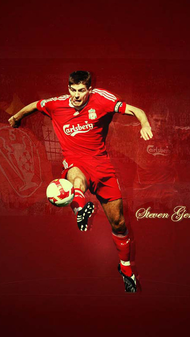 liverpool Gerrard iPhone 5 wallpapers Background and Wallpapers 640x1136