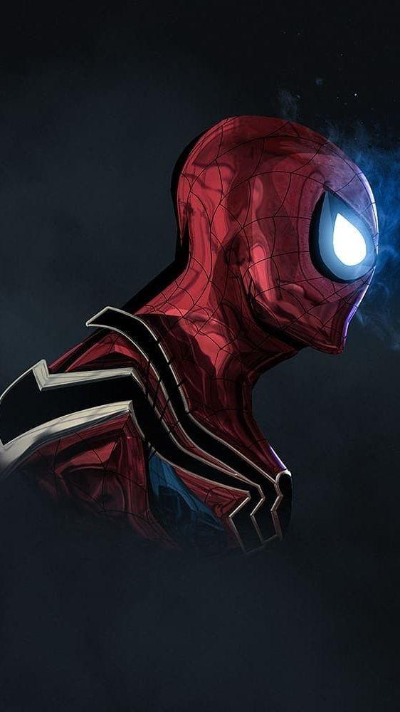 Spider Armour Suit Mark 4 IPhone Wallpaper Spiderman pop Marvel 562x1000
