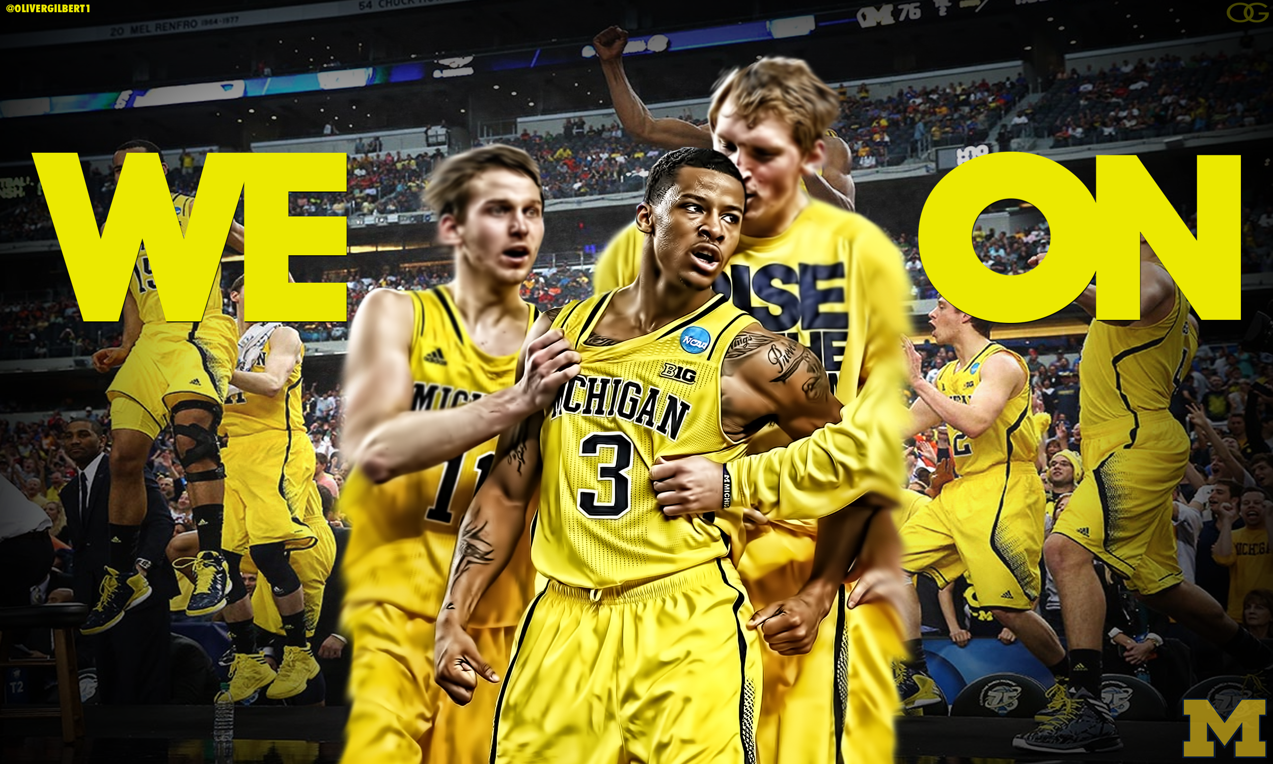 michigan basketball logo   Google Search Ideas for the House 2500x1500