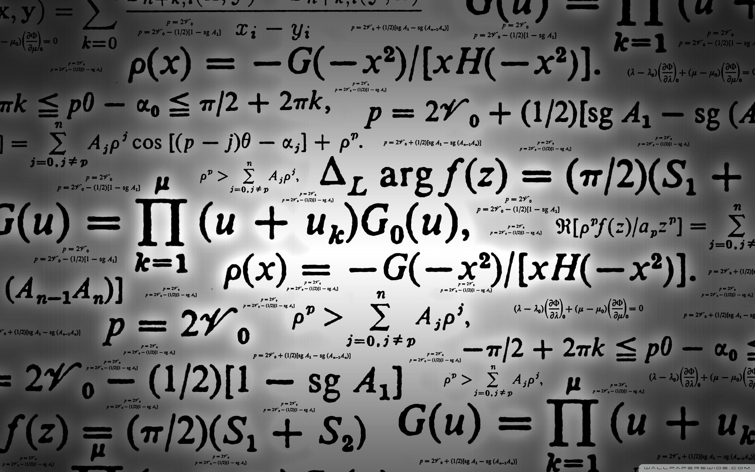 Mathematics 4K HD Desktop Wallpaper for 4K Ultra HD TV 2560x1600