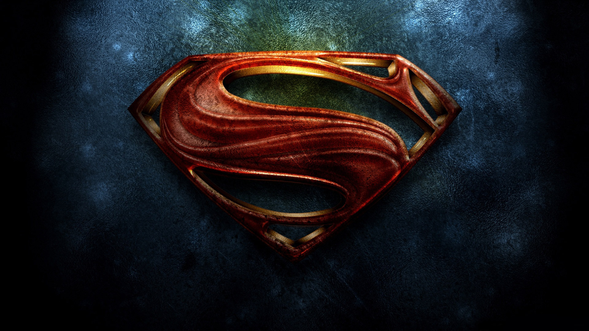 Superman The Man of Steel 2013 Logo HD Wallpaper 1920x1080
