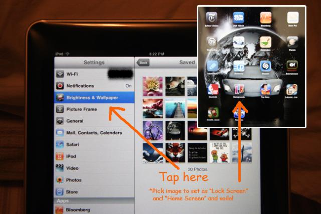 how to change ipad wallpaper and grab or save images from the web 640x427