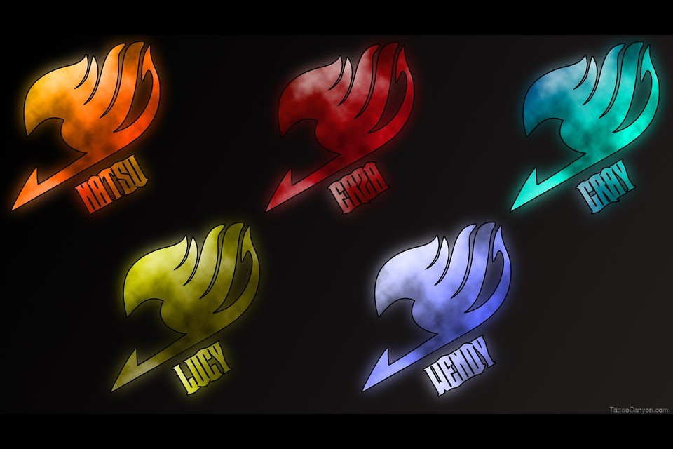 Fairy Tail Anime Logo Background Hd Wallpaper Picture 6114 960x640