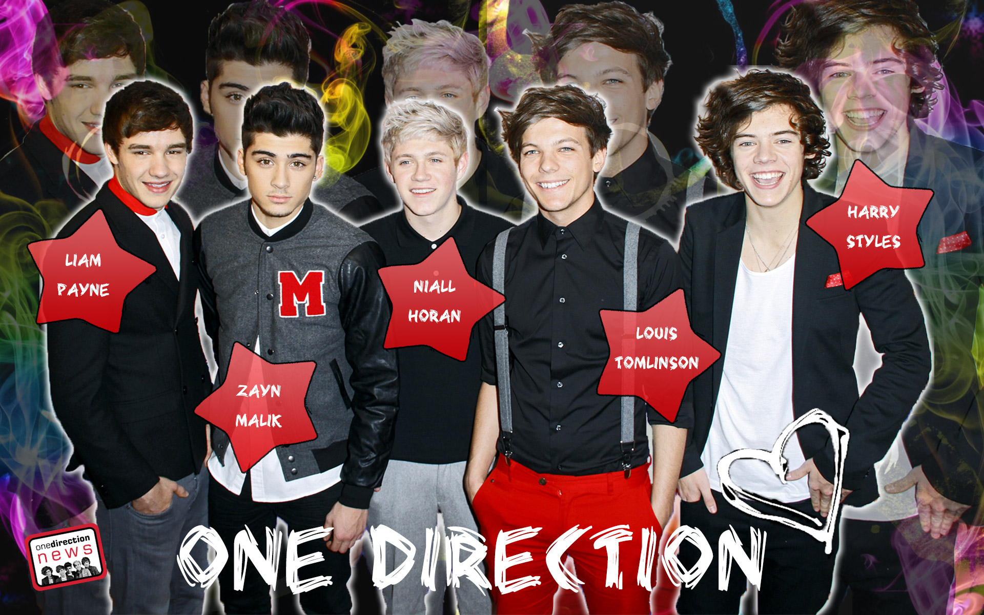 One Direction Wallpapers Harry Zayn Louis Liam and Niall 1920x1200