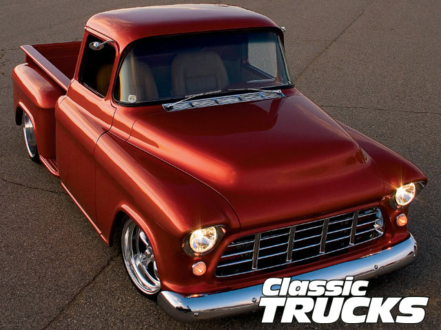 Old Chevy Truck Wallpaper 640x480