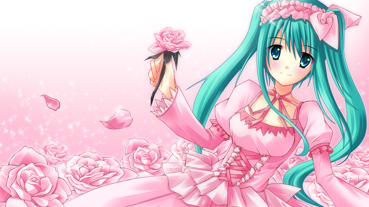 Cute Anime Girl Computer Wallpapers Desktop Backgrounds 1280x720 1280x720