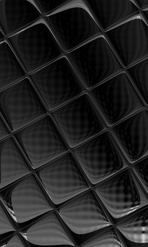 free 480 x 800 cellphone wallpaper abstract shiny black 480x800