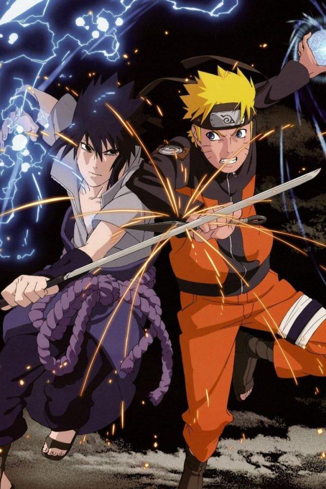 download Naruto Sasuke iPhone 7 wallpaper iPhone7wallpapersco 640x960