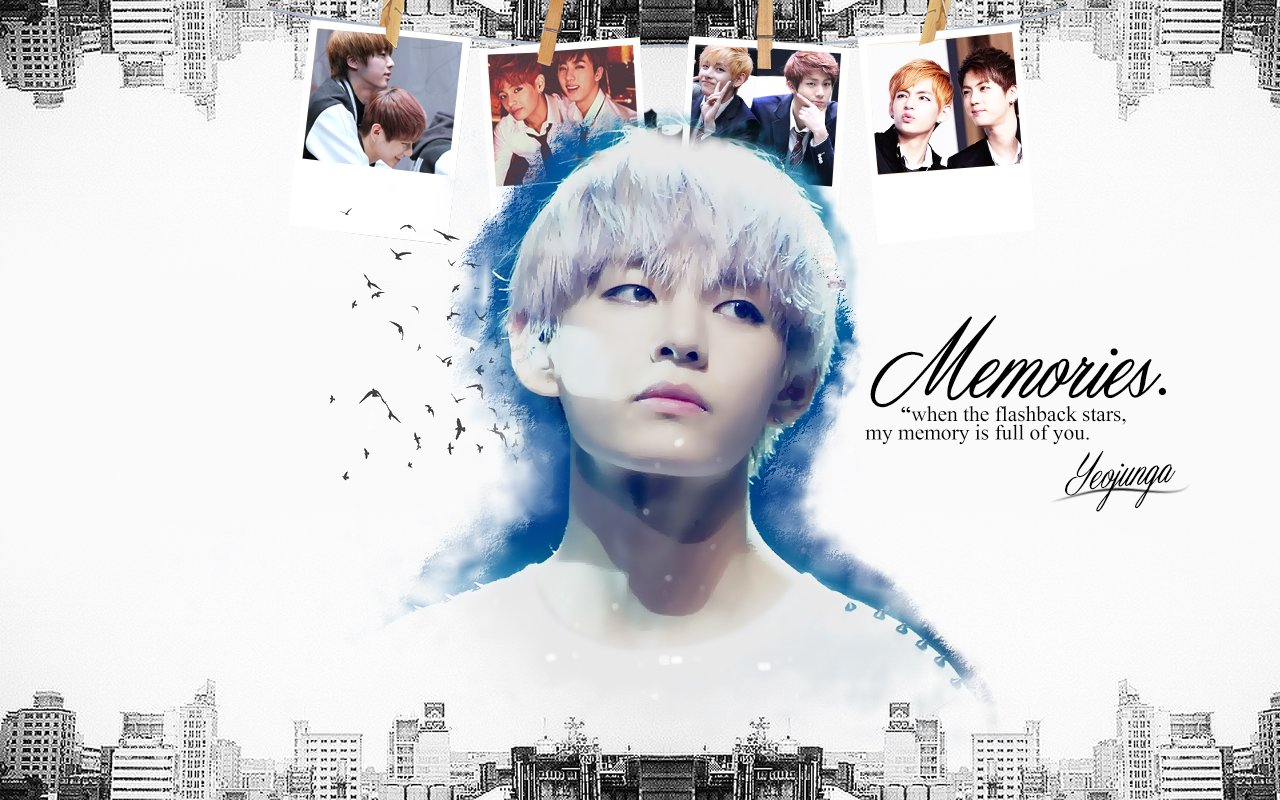 Wallpaper Memories ft BTS V [2015 2014] MOVED 1280x800