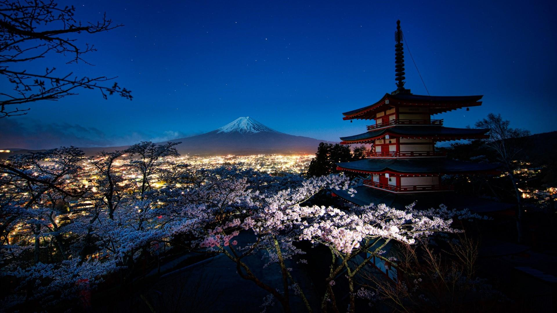 Night Mount Fuji Wallpapers   Top Night Mount Fuji 1920x1080