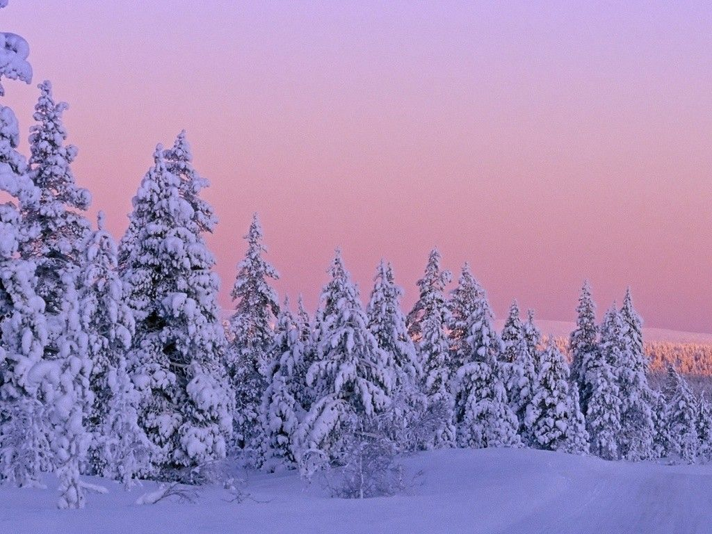 45 Pink Sky Snow Sunset Wallpapers   Download at WallpaperBro 1024x768