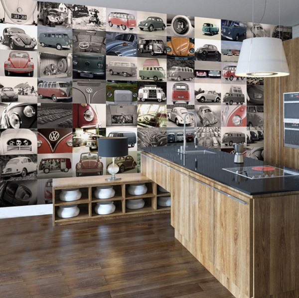 Home Wallpaper Murals 1 Wall for All 64 Piece Collage Murals 600x599