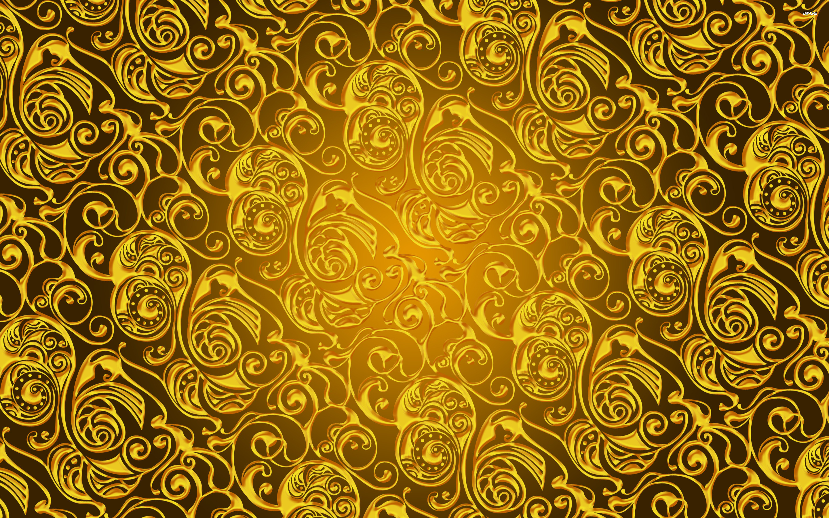 Gold Pattern wallpapers HD   571860 2880x1800