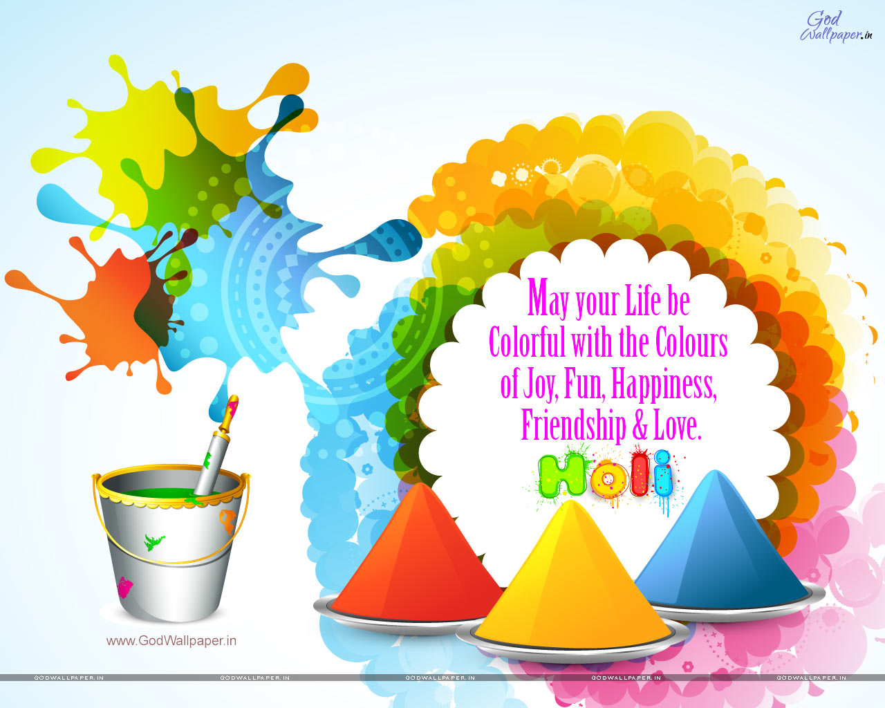 Happy Holi Hd Wallpaper   Transparent Happy Holi Png 153688 1280x1024
