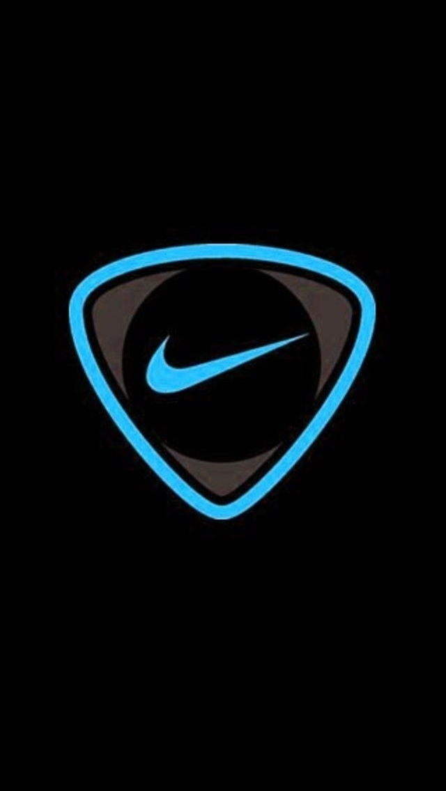 Blue Nike iPhone 5 Wallpaper 640x1136 640x1136