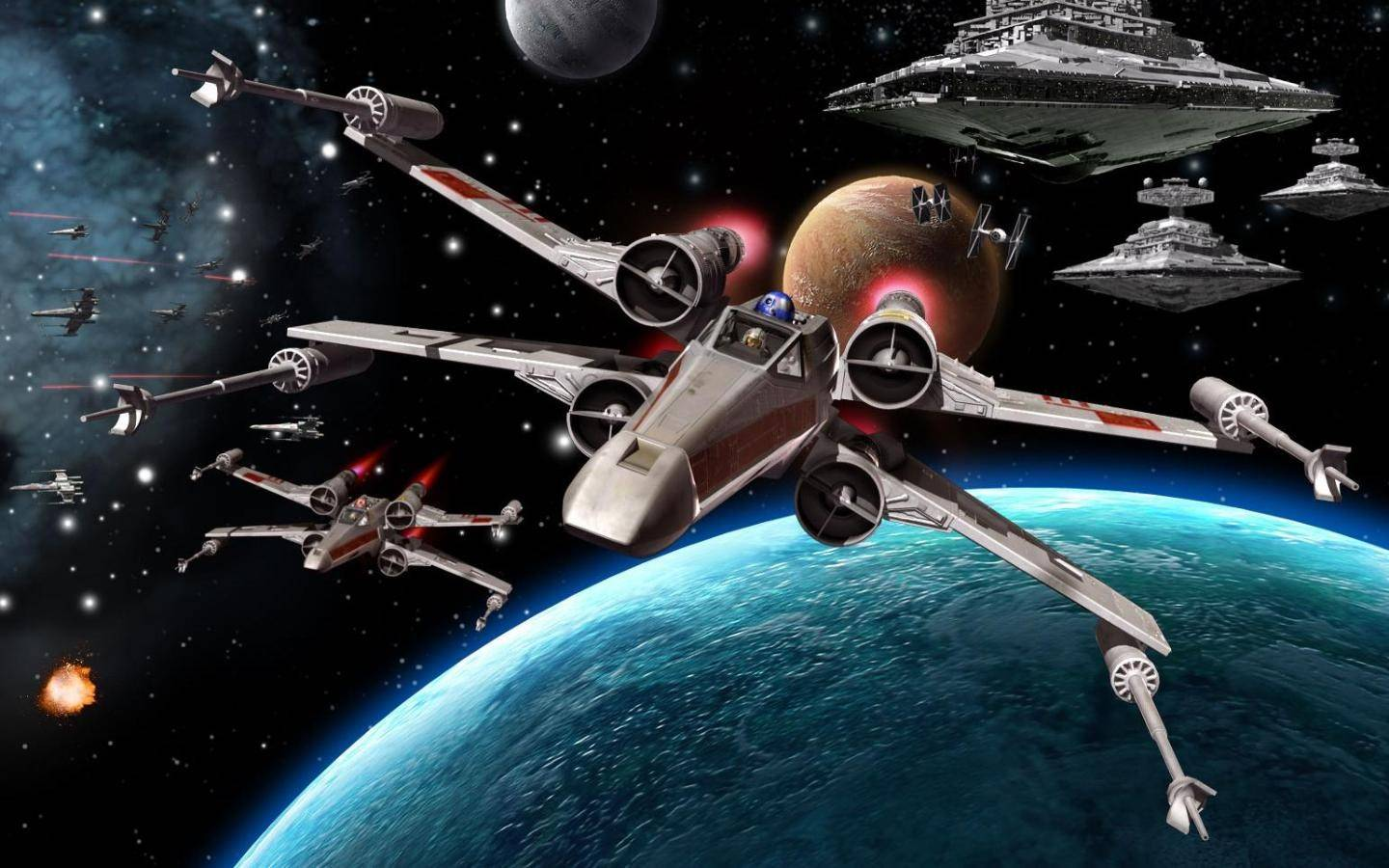 Free Download X Wing Wallpapers 1440x900 For Your Desktop