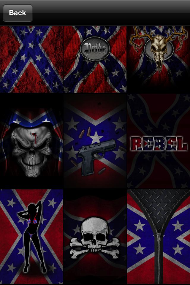 rebel flag wallpaper iphone wallpapersafari