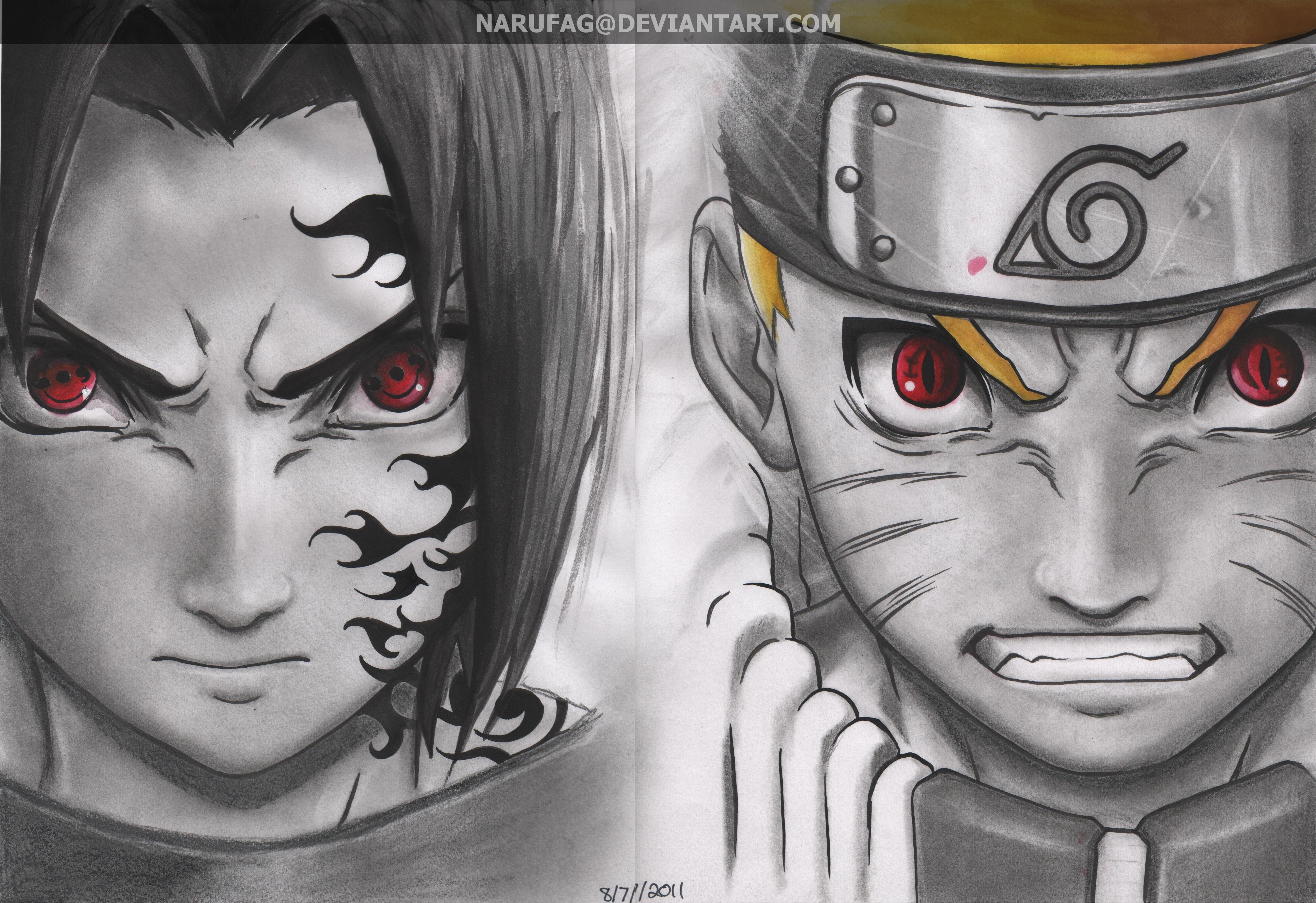 naruto vs sasuke wallpaper   ForWallpapercom 4926x3383