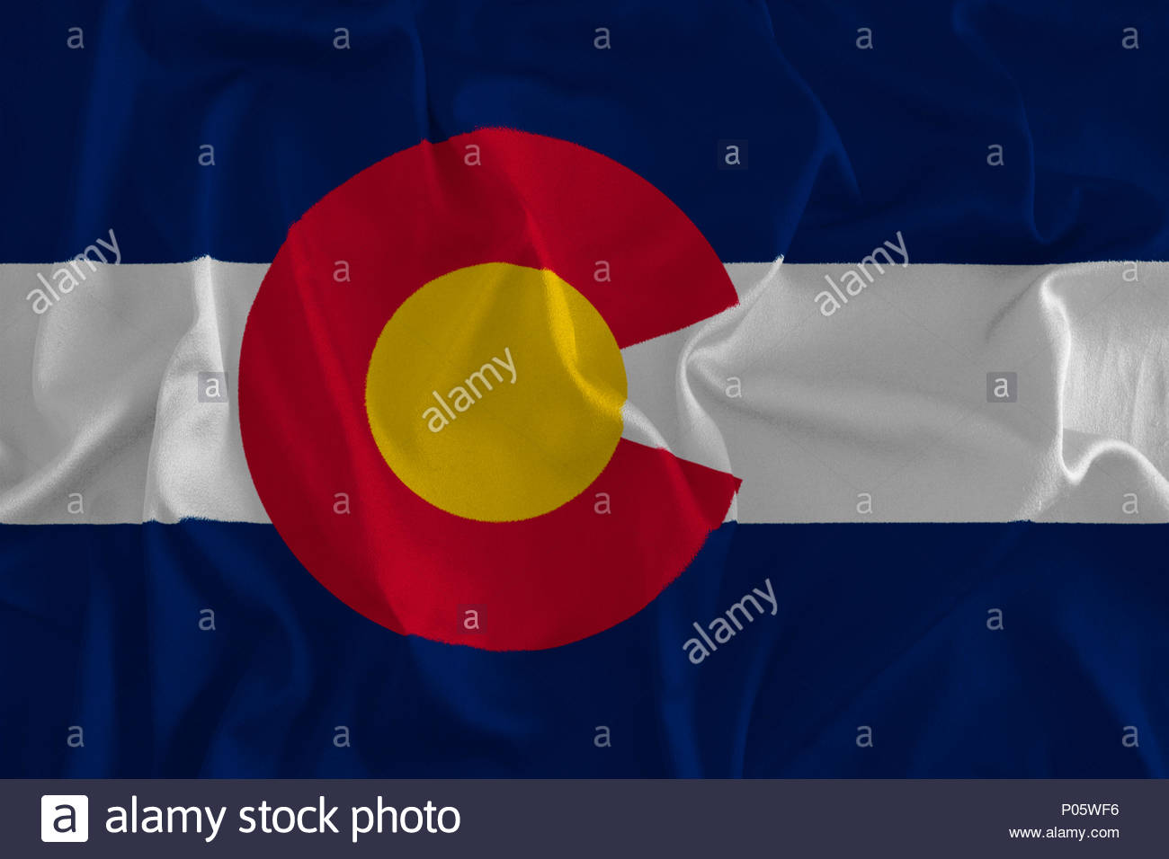 Flag of Colorado Background The Centennial State Stock Photo 1300x956