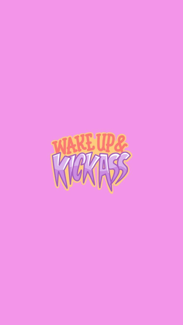 Cute Wake Up Snapchat background wallpaper Iphone wallpapers 750x1334