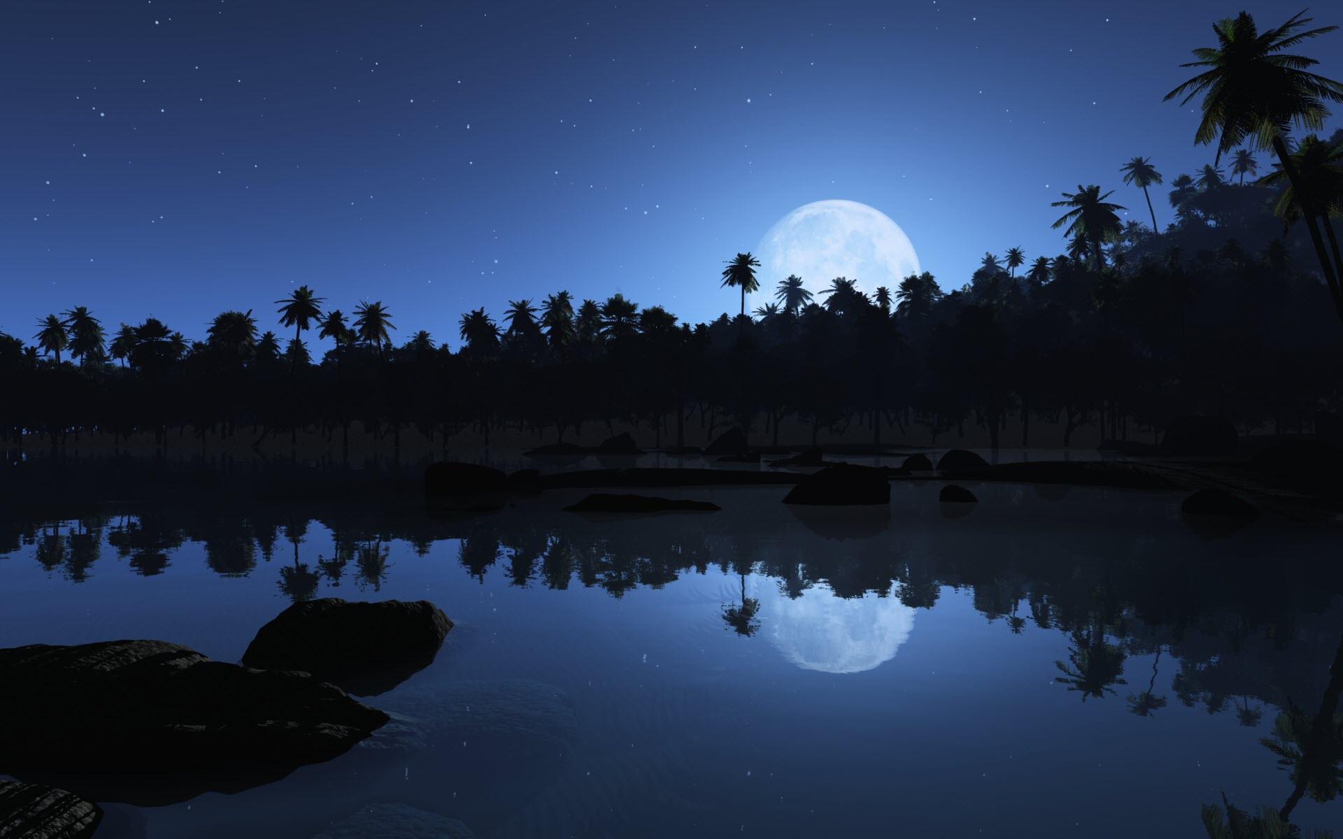 Wallpaper download night - Aqua Blue Night Wallpapers Hd Wallpapers