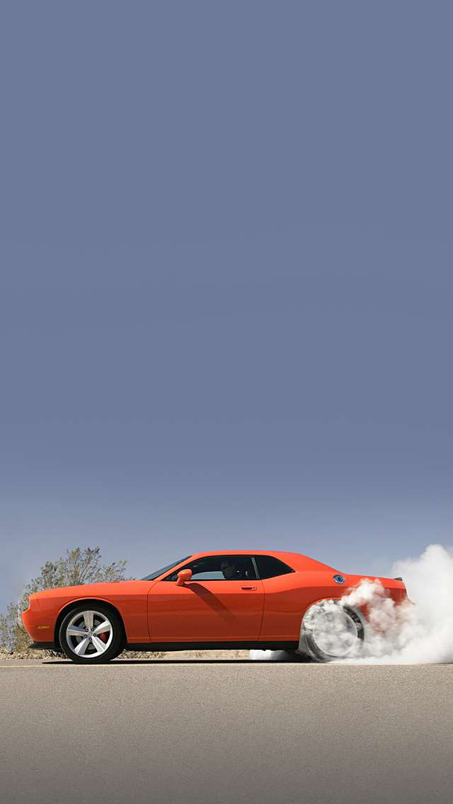 Dodge Challenger iPhone 5 Wallpaper 640x1136 640x1136