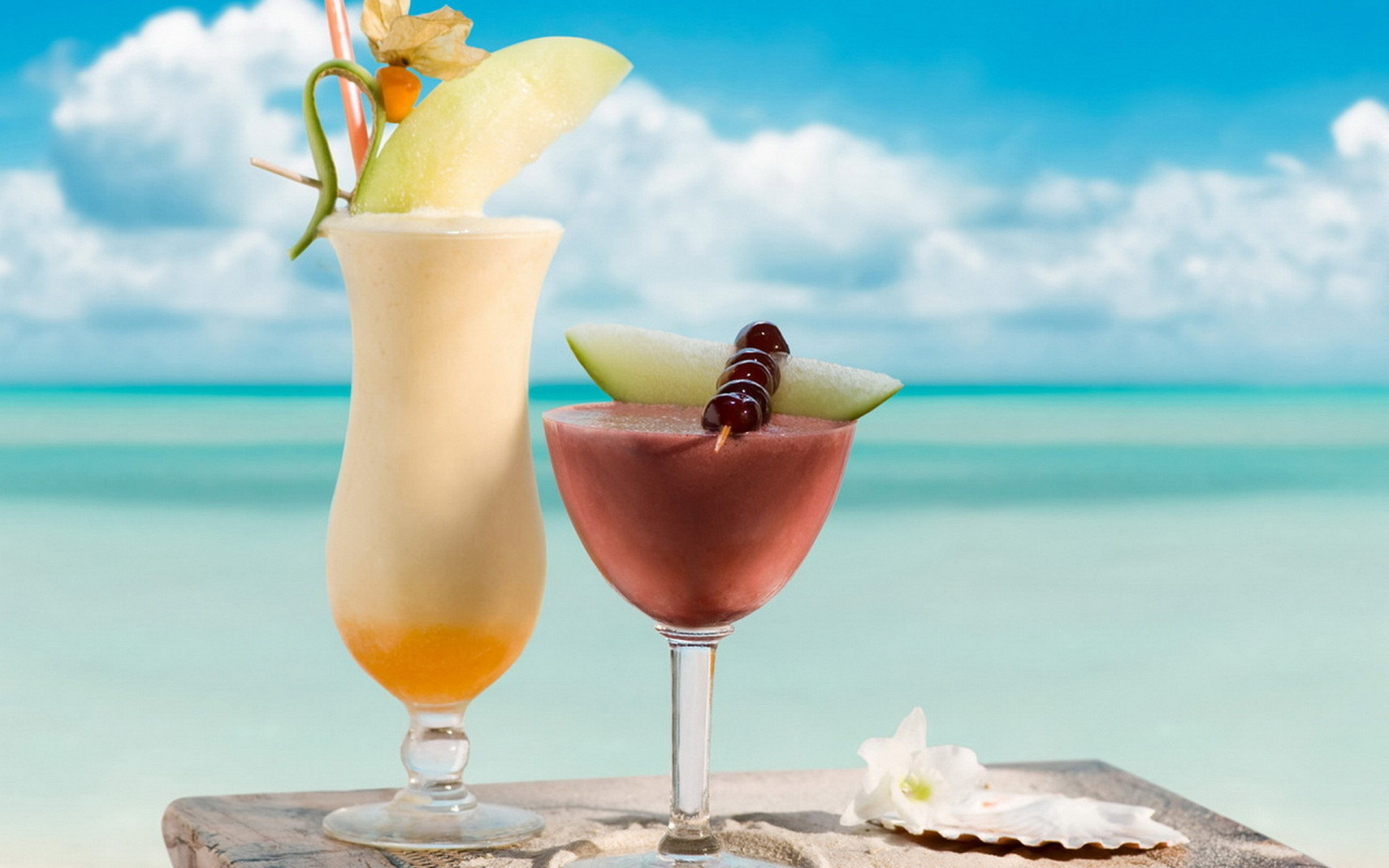 Tropical Cocktails wallpapers and images   wallpapers pictures 2560x1600