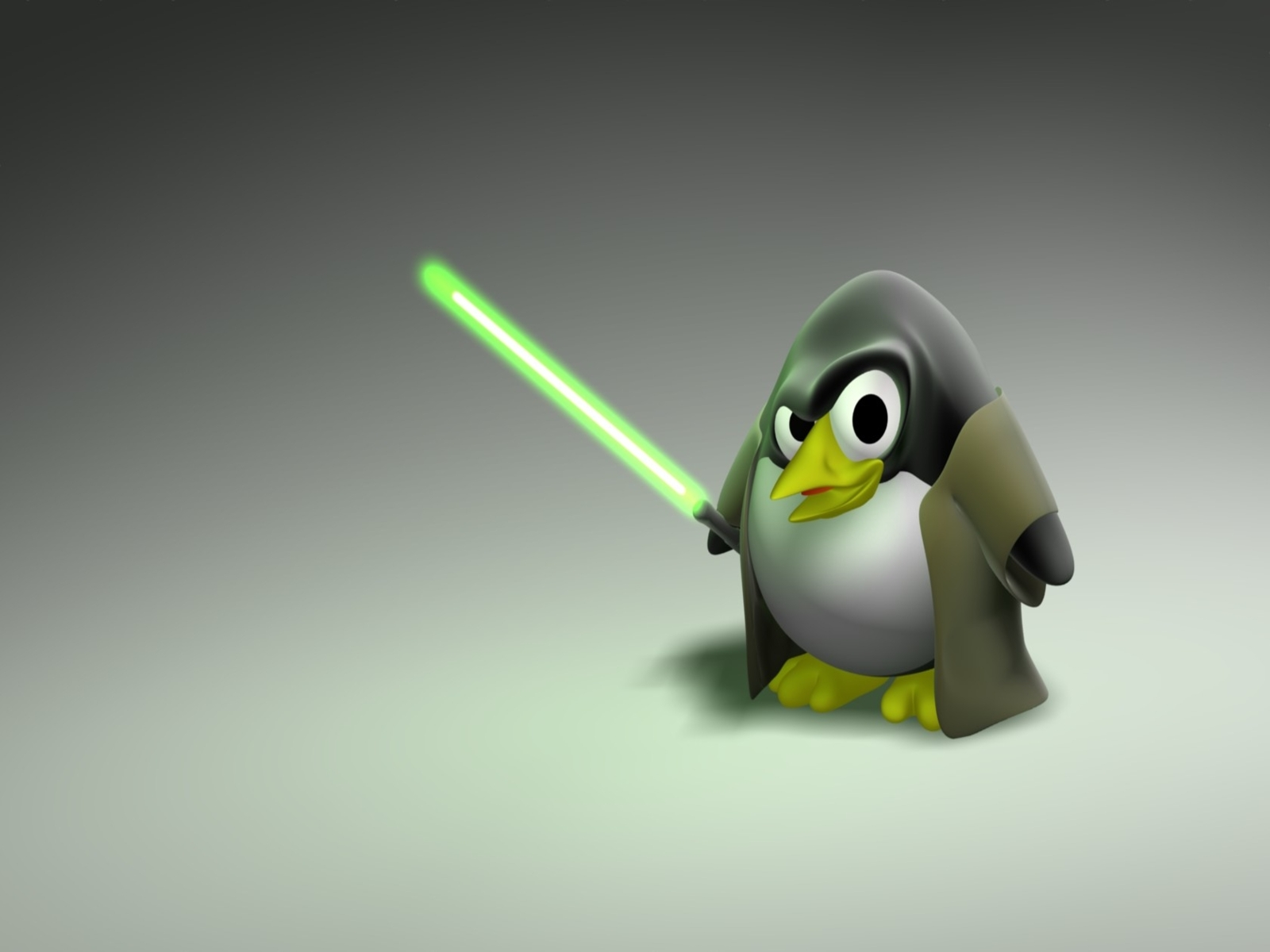 Desktop Wallpaper Jeday Linux Penguin Mascot HD Wallpaper 1600x1200