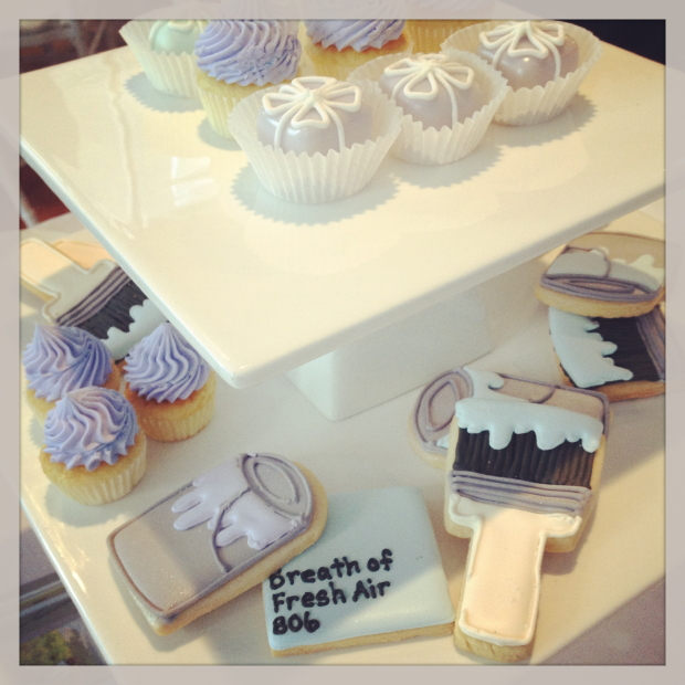 Benjamin Moore Colour of the Year cookies The Home and Garden Blog 620x620