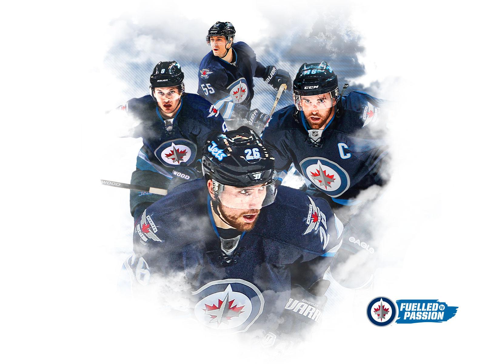 Digital Fan Downloads   Winnipeg Jets   Fan Zone 1600x1200