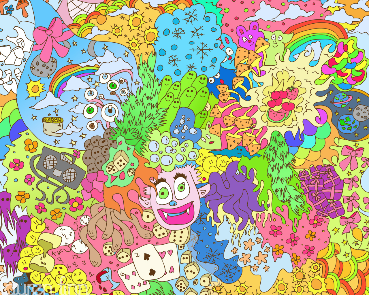 Doodle wallpapers wallpapersafari - Doodle desktop wallpaper ...