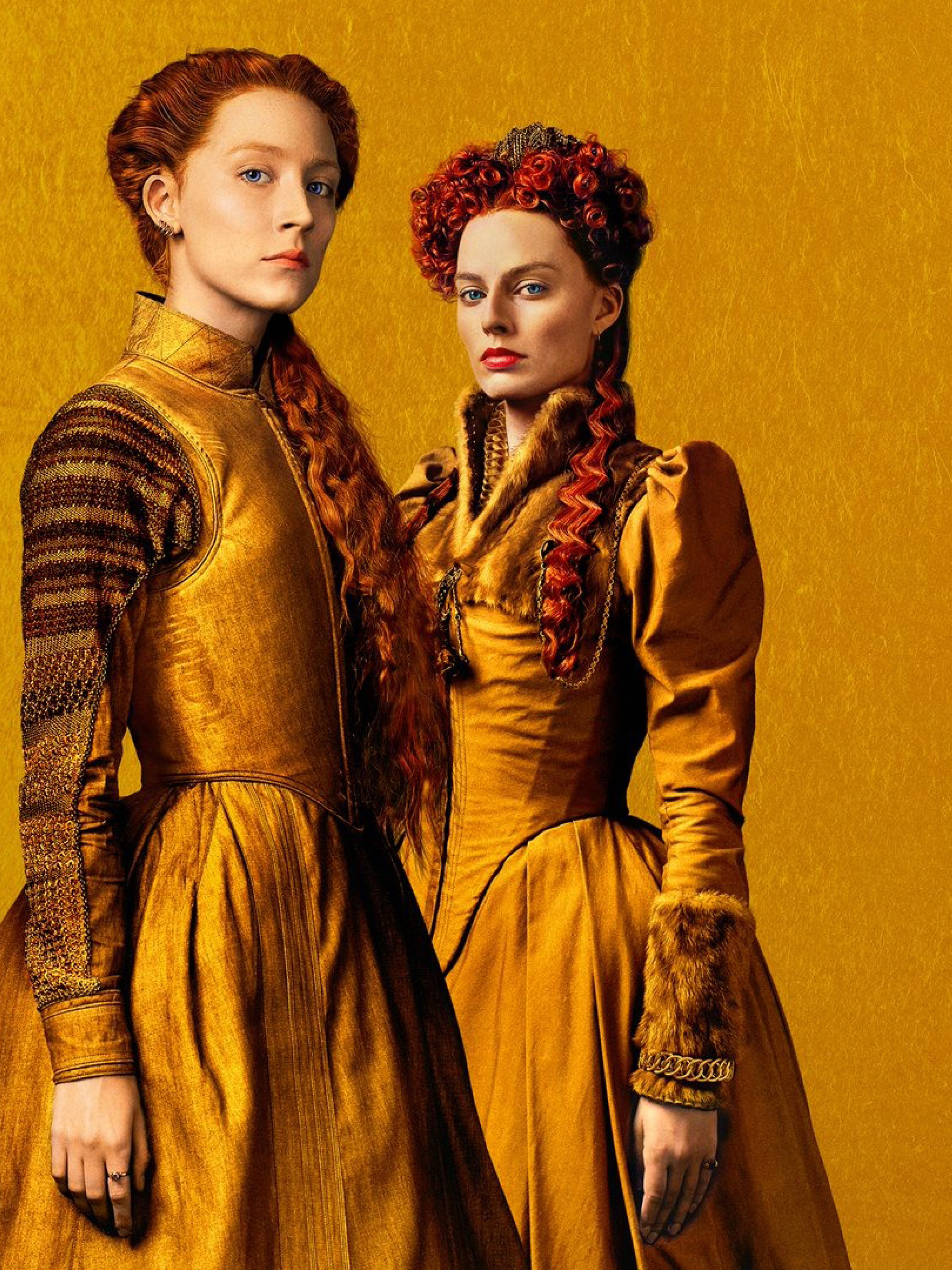 2048x2732 Margot Robbie and Saoirse Ronan in Mary Queen of Scots 2048x2732