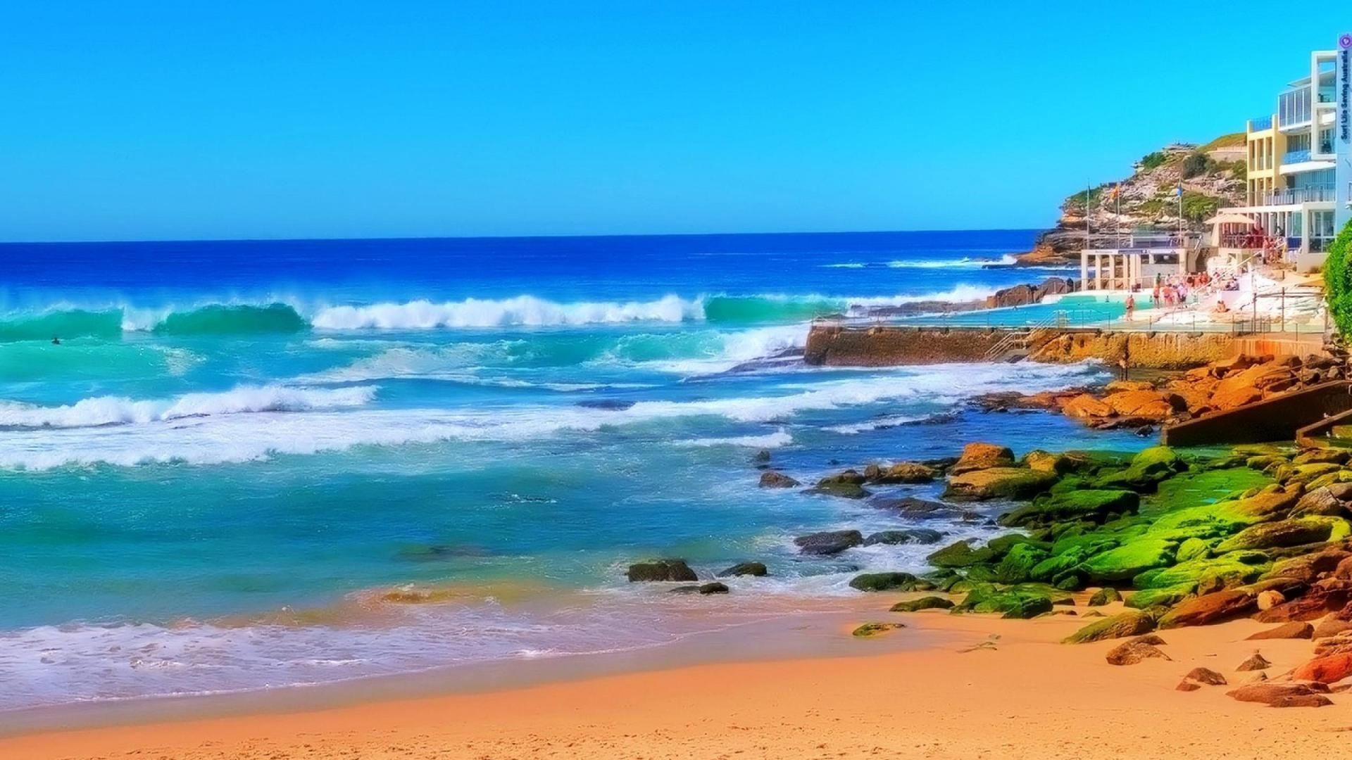 Beach Wallpapers 1080p wallpaper wallpaper hd background desktop 1920x1080