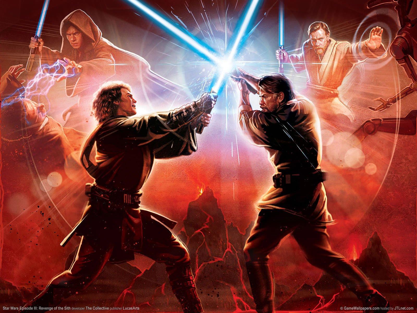 46 Star Wars Episode 3 Wallpapers On Wallpapersafari