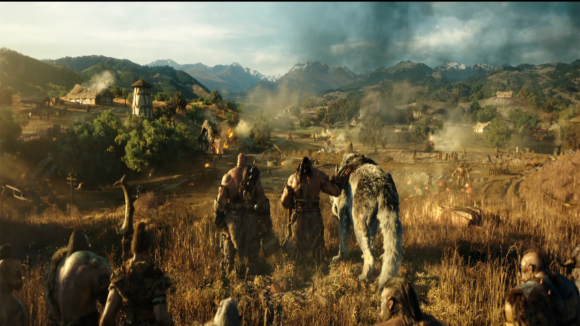 The Warcraft movie first trailer and HD screencaps Movie Wallpapers 1920x1080