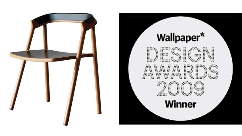 Coen Chair   Best of dining chair by Wallpaper Design Award 2009 800x451