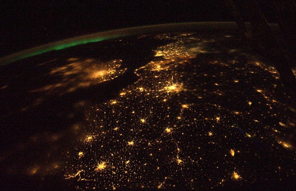 earth at night from space station backgrounds wallpapersjpg 1200x777