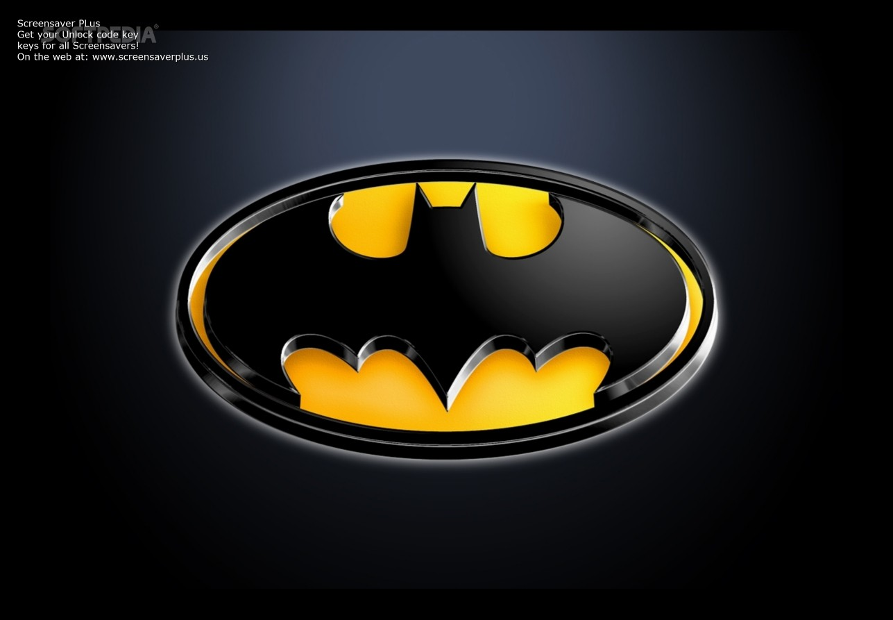 BATMAN SCREENSAVER   BATMAN SCREENSAVER is a simple to use application 1287x893