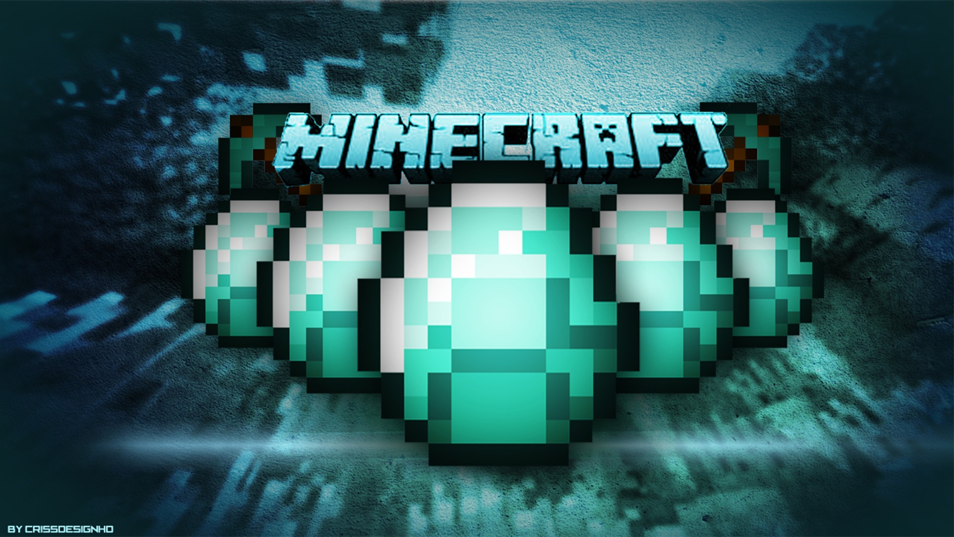 free download minecraft diamond sword make pixel art hd wallpaper Car 1920x1080