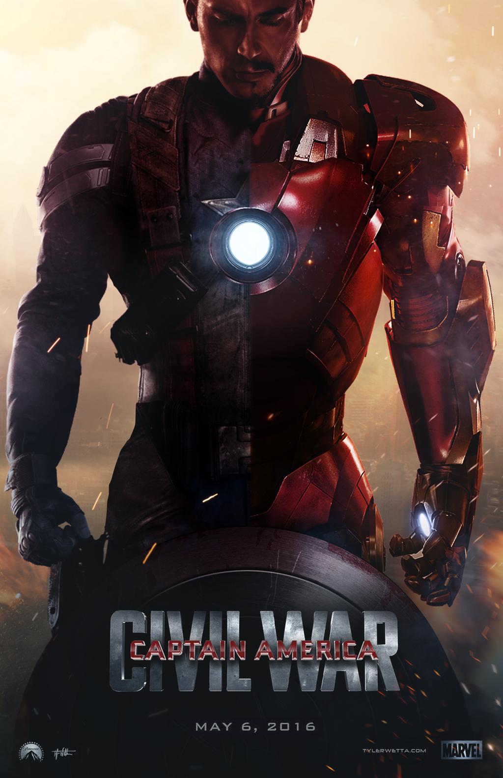 Captain America Civil War Wallpaper 1 1024x1583