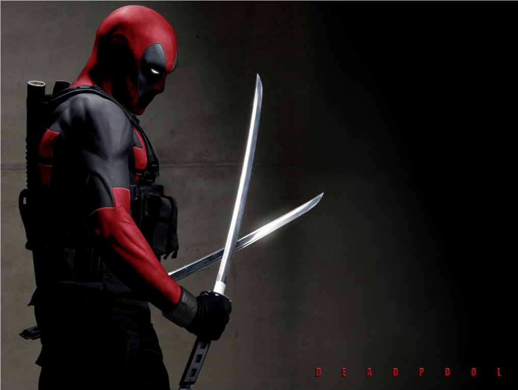 an R Rated eight minutes of test footage for the Deadpool movie 1016x765