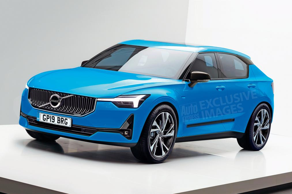 All new 2019 Volvo V40 Premium Small Car Targets VW Golf 1013x675