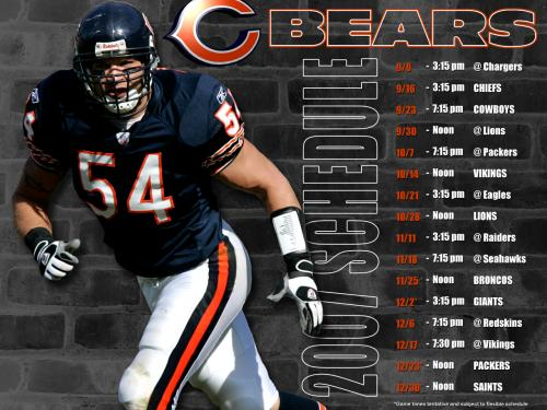 wallpapers football nfl chicago bears chicago bears schedule 500x375