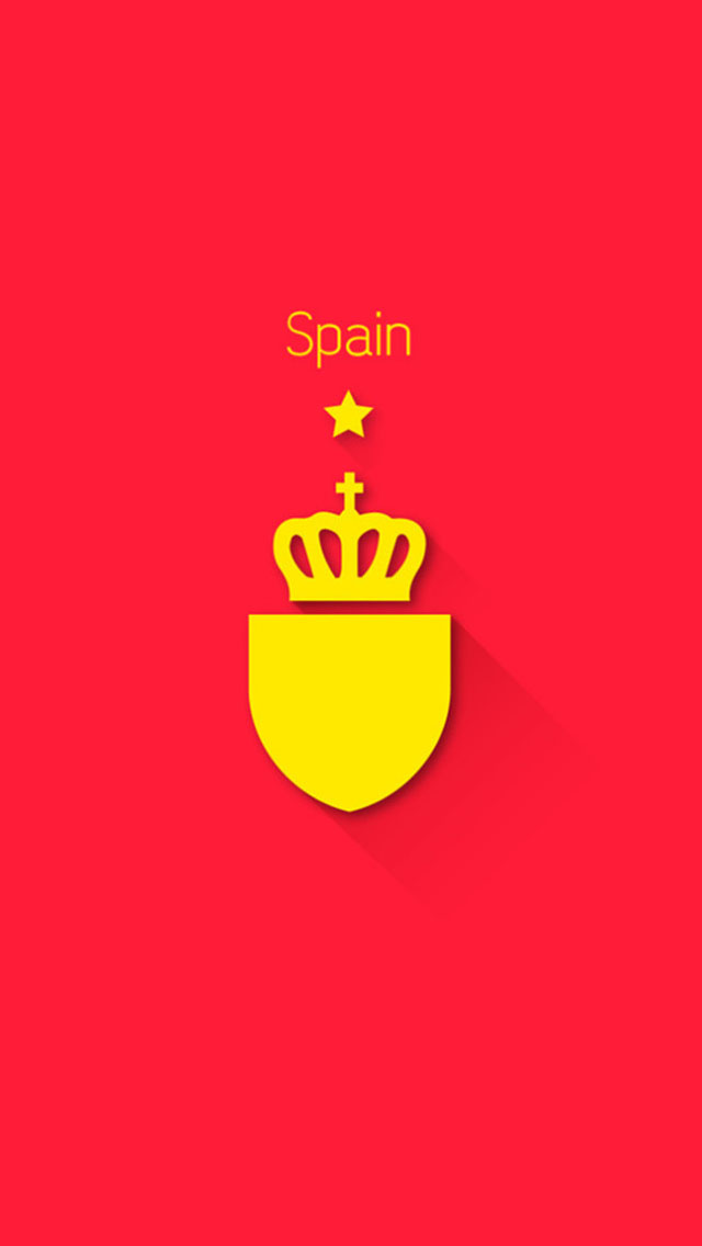 Spain Logo Team Football IPhone wallpaper HD 2016 in 640x1136